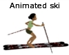 animated ski