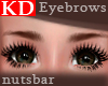 (n) KD soft brown brows