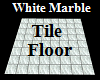 White Marble Tile Floor