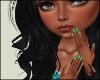 Green | Short Nails