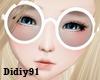 [AK]Kawaii White Glasses