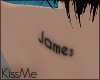 KM|James Back Tattoo