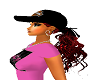 Harley Hat Red hair