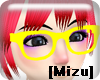 [Mizu]NerdGlasses yellow