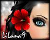 *LL* Red hair flower