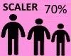 Scaler 70%