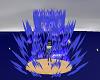 Blue Aura Particle