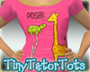 Kids Poser Giraffe Tee