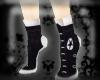 Hi-Top Heel Socks