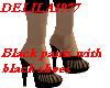 Black pants w/blk shoes