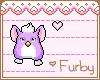 <3 Furby Support Sticker