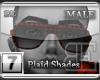 [BE] Red Plaid|Shades M