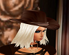 Brown CowGirl Hat