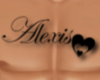 *Custom*Alexis Chest Tat