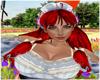 -SWD- Ayesha Hair Red