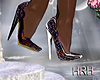 HRH 20 Purple Sparkle Shoes