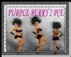 [FCS] Purple Berry 2Pce