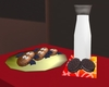 ❥ Bat Cookies & Milk