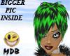 ~MDB~ GREEN BLACK E.GIRL