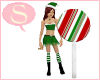 S. Lollipop peppermint