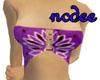 !! purple bandana top