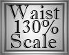 130% Waist & Hip Scale