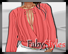 Pink Salmon Blouse