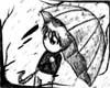 *[GB]* boy in rain
