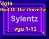 Vota God Of The Universe