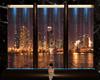 Chicago Night Fountain