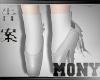 Ballet Shoes White Plat
