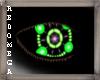 Green Rave Eyes