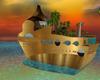 tiki luau party ship