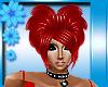 Queen Of Hearts PVC Hair