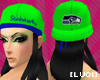 [luci]Green Seahawks cap