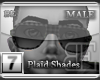 [BE] Grey Plaid|Shades M