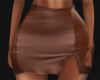 Mini Brown Skirt RL