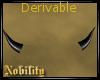 M/F Derivable Horns Sm.