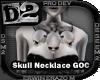 [D2] Skull Necklace GOC