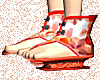 Chinese Sandals RED