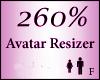 Avatar Resize Scaler 260