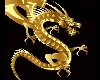 Gold Dragon Badge