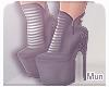 Mun | Grey Boots '