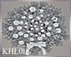 K xmas silver wreath