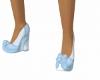 [KC]Blue Bow Shoes