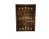 Rustic book shelves
