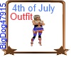 [BD] 4th Of July Outfit