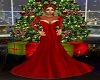 BB Red Christmas Gown