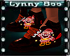 !Neon Santa DJ Shoes (F)