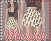 M|Waist Skirt Ananas